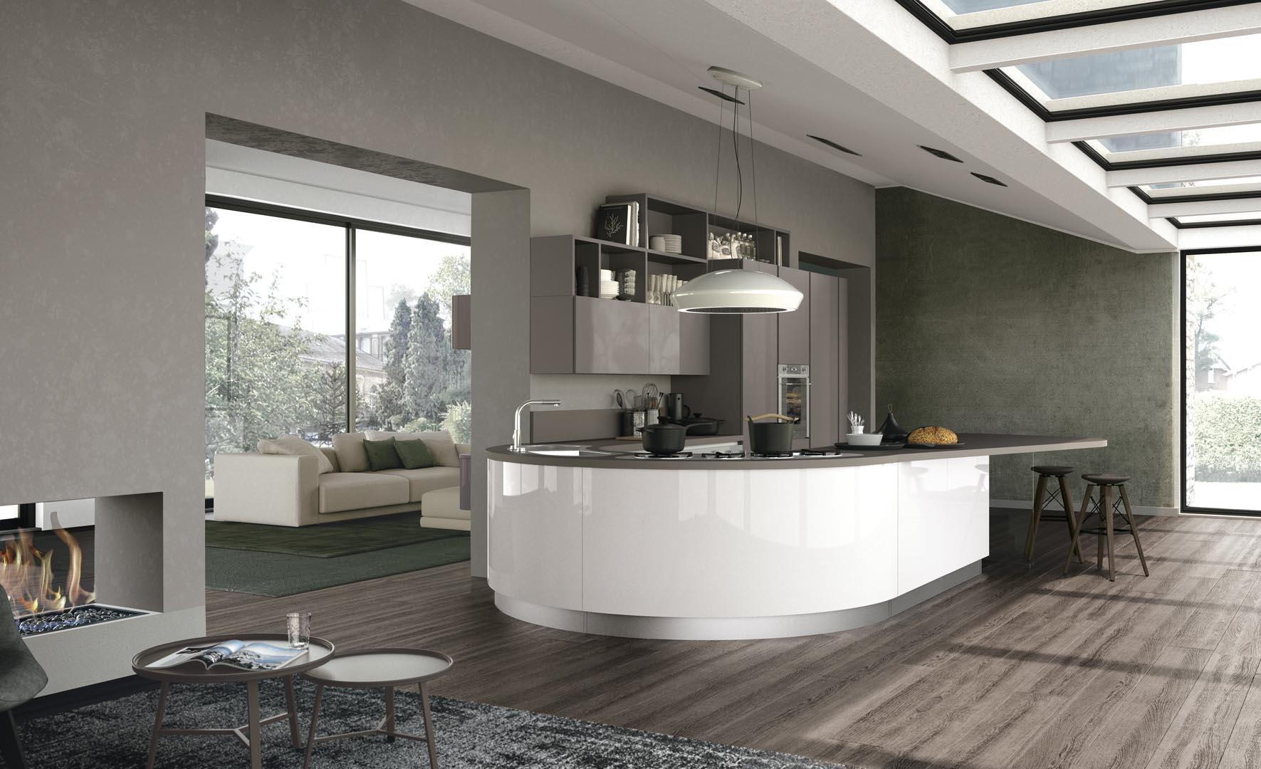 Cucine moderne nuovarreda barbiero - Cucine moderne lube ...